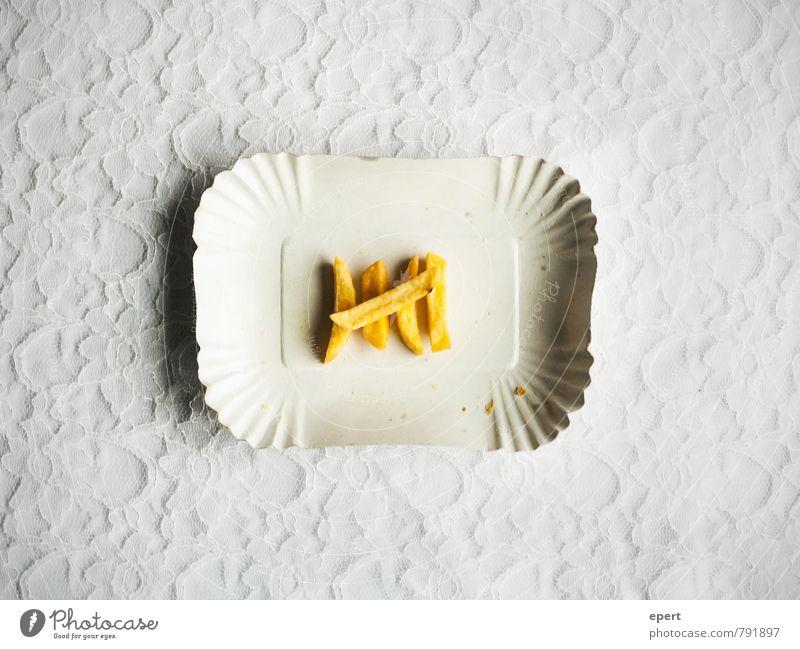 Kartoffelspalterei Pommes frites Ernährung Fastfood Fingerfood Schalen & Schüsseln Ziffern & Zahlen einfach lecker Ordnungsliebe Genauigkeit sparsam Farbfoto