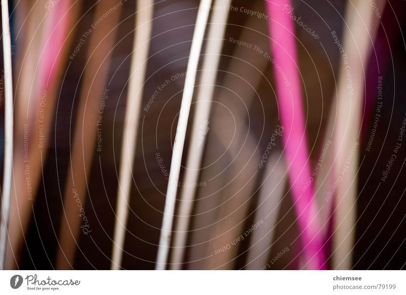 Linien schwarz Farbe Linie Faser magenta