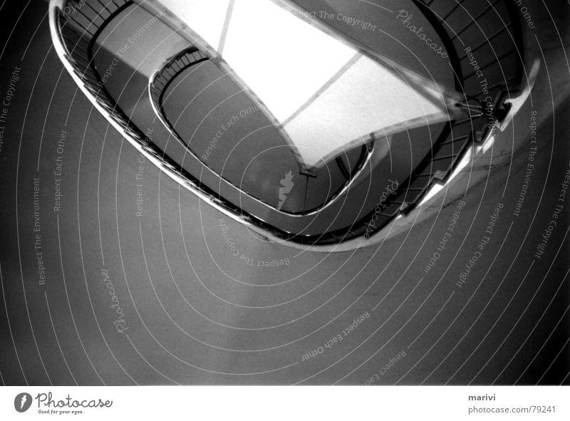 sailing Perspektive Treppe Stoff unten aufwärts Geländer Decke Segel Spirale Treppenhaus Oval Wendeltreppe