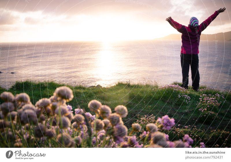 GLÜCK. feminin Glück Zufriedenheit Fröhlichkeit Lebensfreude Republik Irland