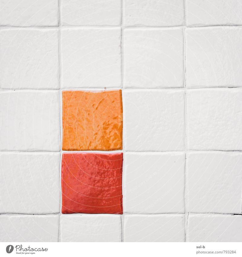 o/r Reichtum Stil Design harmonisch Innenarchitektur Dekoration & Verzierung Bad Fliesen u. Kacheln Kunst Kunstwerk Mauer Wand ästhetisch einfach heiß
