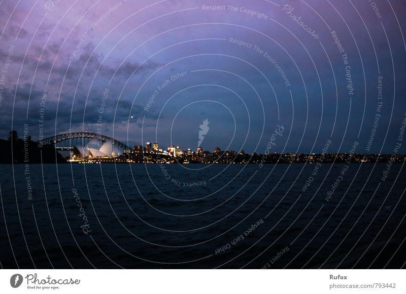 Sydney´s Charme Kunst Theater Bühne Oper Opernhaus Orchester Luft Wasser Himmel Nachthimmel Sonnenaufgang Sonnenuntergang Sydney Harbour Australien Stadt