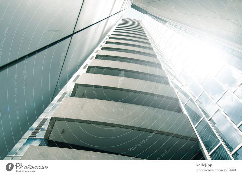 o Stadt Fassade Hochhaus Zukunft Ziel Balkon