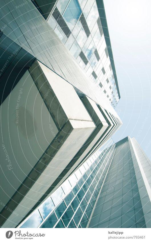* Architektur Gebäude Fassade Hochhaus Futurismus bauen
