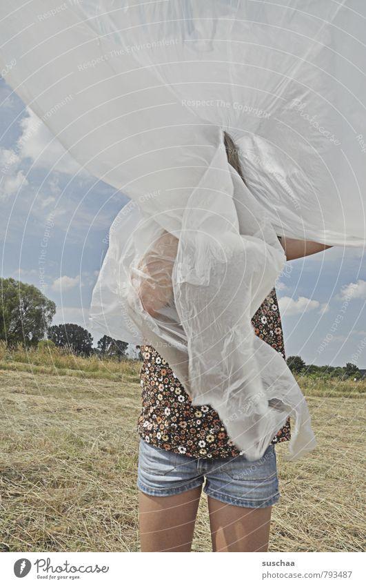 verhedderederedered Mensch Himmel Kind Natur Sommer Landschaft Mädchen Umwelt feminin Spielen Beine Horizont Feld Körper Kindheit Haut