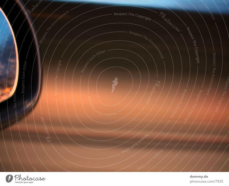 Carmirror Part I Geschwindigkeit Spiegel fahren Langzeitbelichtung Makroaufnahme autospiegel kaz