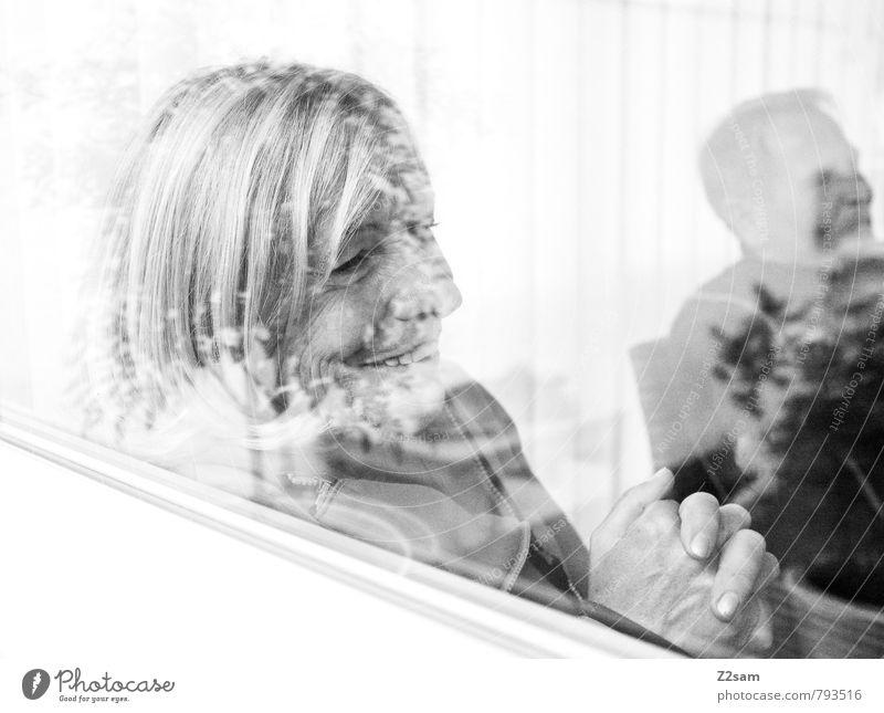 M+D Mensch Frau Mann schön Erholung Erwachsene feminin sprechen natürlich lachen Glück Gesundheit maskulin Zufriedenheit sitzen blond