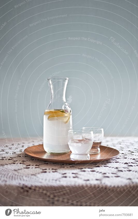zitronenwasser Gesunde Ernährung natürlich Gesundheit Glas frisch Trinkwasser Getränk gut lecker Bioprodukte Flasche Diät Fasten Tischwäsche Vitamin Zitrone