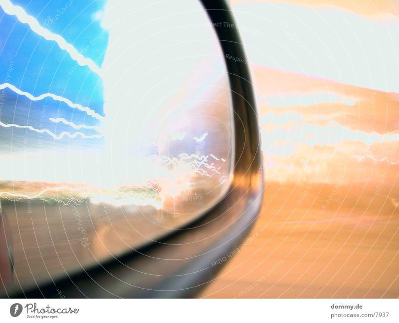 Carmirror Part III Geschwindigkeit Spiegel fahren Langzeitbelichtung Makroaufnahme autospiegel kaz