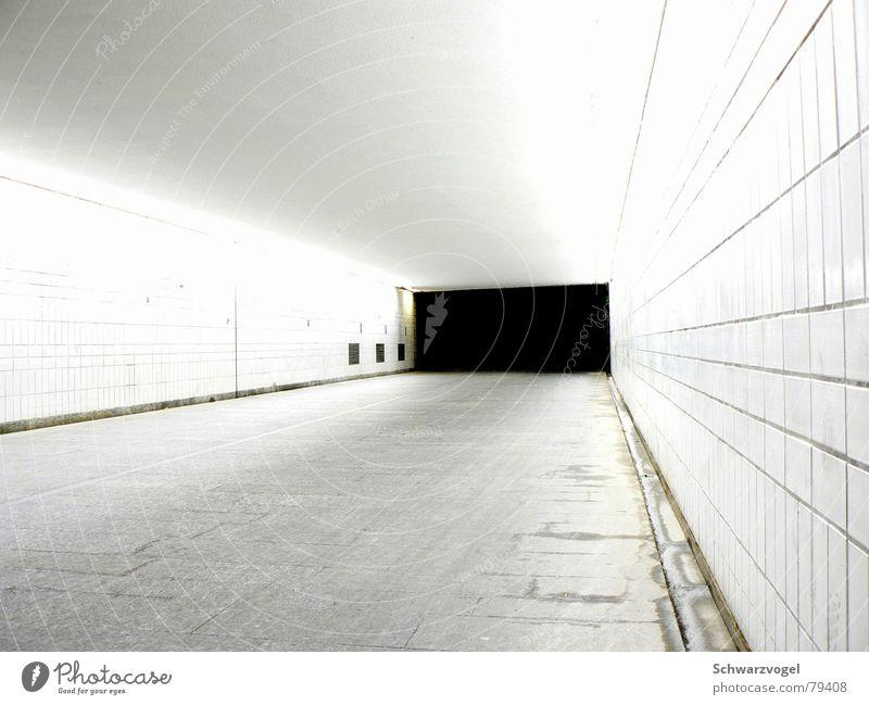 Lichtweg dunkel Wege & Pfade hell Tunnel Ausweg