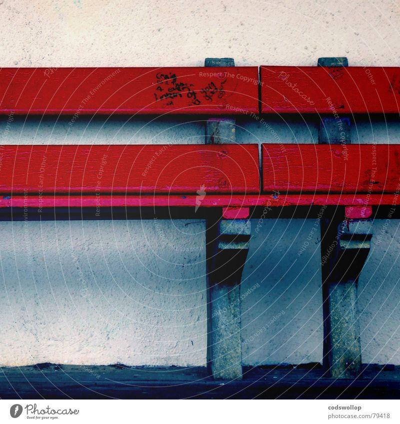 craig is a nutter blau rot Wand Graffiti sitzen Bank Möbel Haushalt Wandmalereien Filzstift