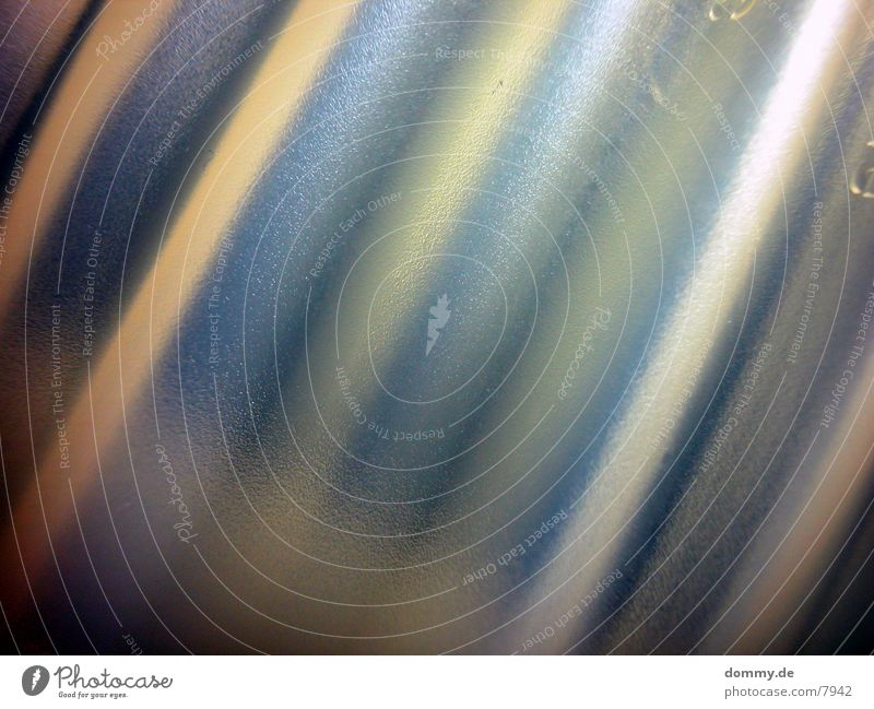 wellen Dose Wellen schwingen Makroaufnahme Nahaufnahme gold blau kaz