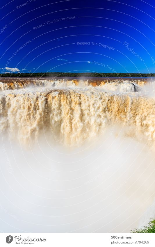 Iguazu Wasserfälle in Missionen, Argentinien Natur Ferien & Urlaub & Reisen Farbe Sommer Erholung Landschaft Ferne Freiheit Tourismus wandern Schönes Wetter