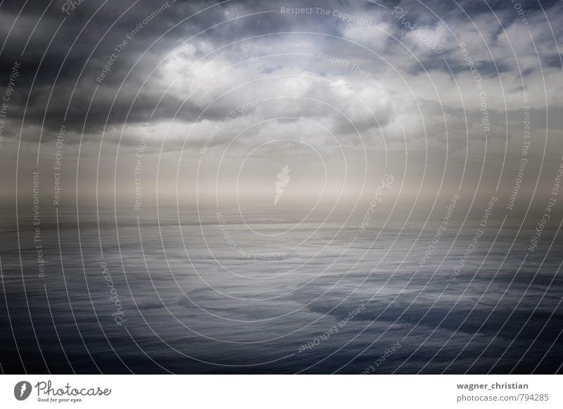Ocean Himmel Natur blau Wasser Meer Einsamkeit Erholung ruhig Landschaft Wolken kalt Küste Luft Kraft Wellen Zufriedenheit