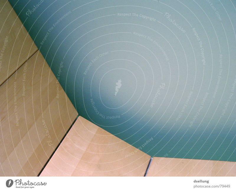 Abwärts grün blau Holz - ein lizenzfreies Stock Foto von Photocase