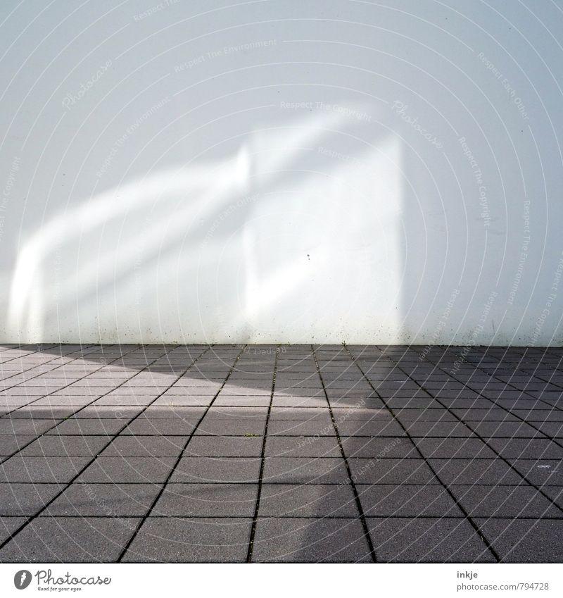 Hannover Stadt Fenster Wand Mauer hell Fassade Fußweg Stadtzentrum Lichtspiel Lichteffekt