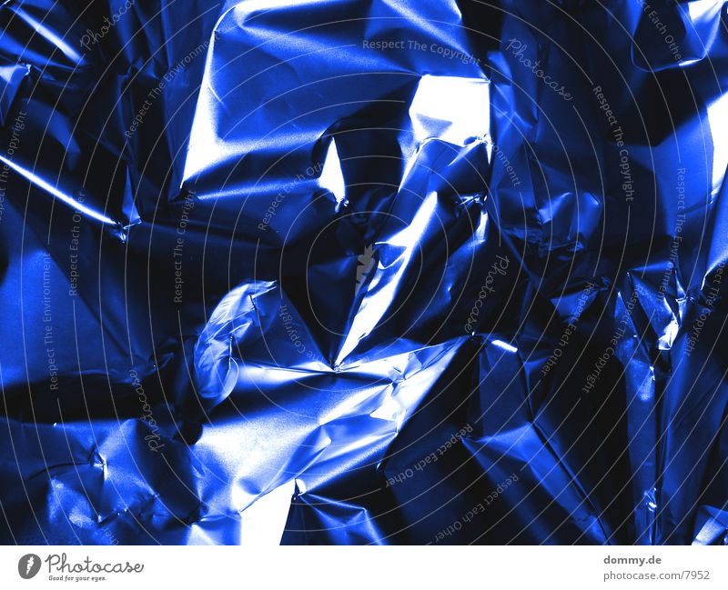 BlueALU Ecke Aluminium Metallfolie