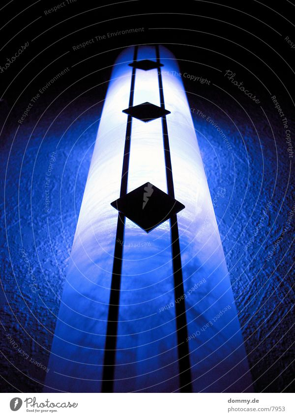 gimme me light... Lampe Licht Makroaufnahme Nahaufnahme blau blue Metall kaz kariert