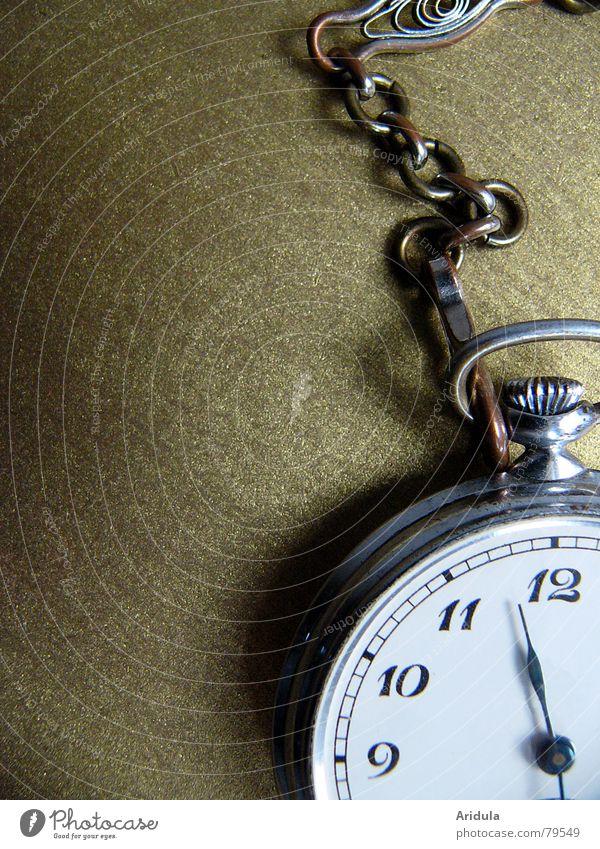 taschenuhr_01 Uhr Pünktlichkeit Taschenuhr Ziffern & Zahlen Zifferblatt Zeit Vergänglichkeit rund glänzend Typographie Symbole & Metaphern circa