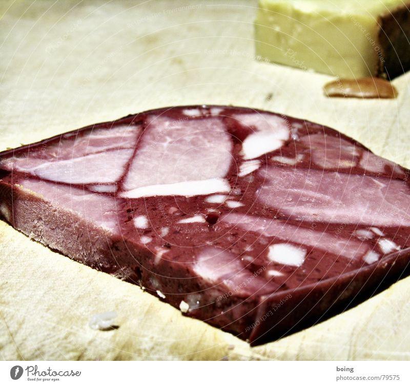 Wurstvase für Muttchen rot schwarz Gastronomie Handwerk Fleisch Abendessen Mahlzeit Wurstwaren Käse Büffet Snack Metzger Handwerker Belegtes Brot Schiffswrack