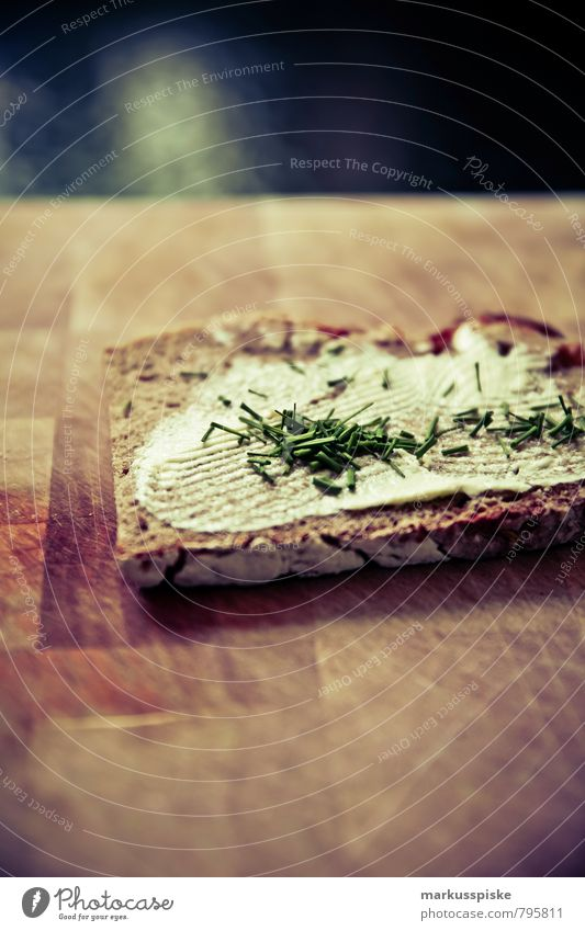 schnittlauch brot Gesunde Ernährung Leben Essen Gesundheit Lebensmittel Wohnung Lifestyle genießen Ernährung Fitness Küche Kräuter & Gewürze sportlich Gemüse Wohlgefühl Duft