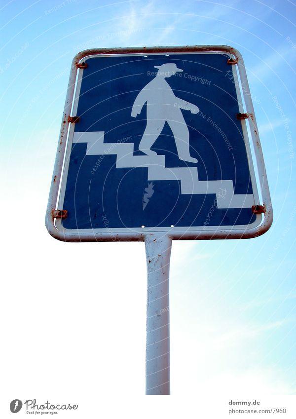 Männchen Schilder & Markierungen Zeichen
