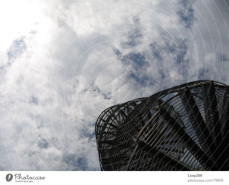 Himmelstreppe Wolken Wege & Pfade Wetter Treppe Aussicht Gewitter