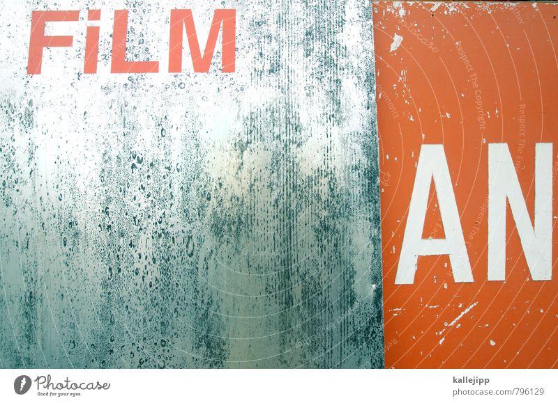 20:15 uhr orange Schriftzeichen Zeichen Fernseher Filmindustrie Filmmaterial silber Kino Konkurrenz Video Sensation Hollywood Potsdam-Babelsberg
