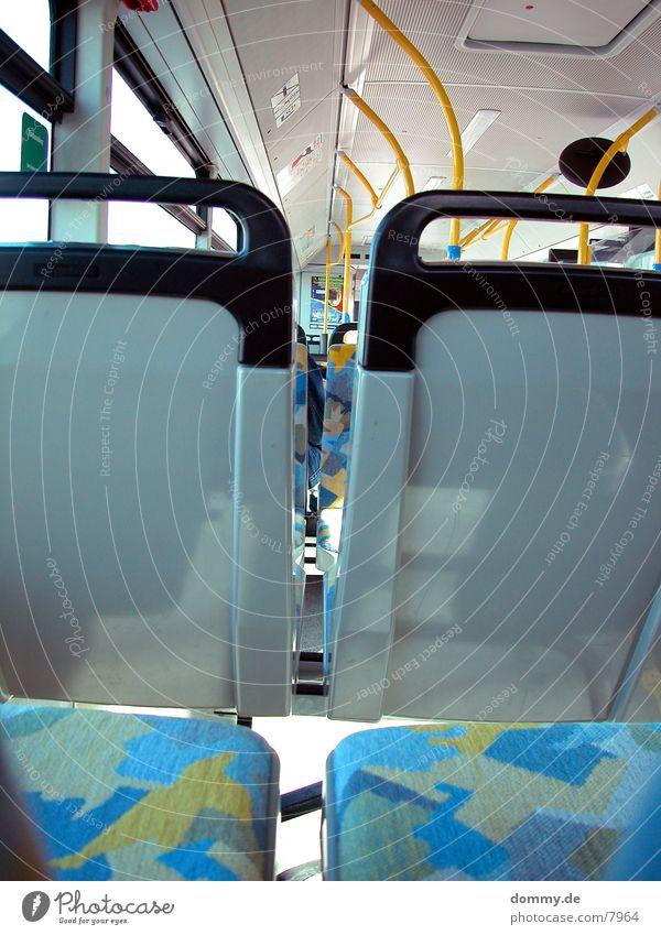 nimm Platz 2 Neonlicht Muster Verkehr Bus Sitzgelegenheit Sonne kaz