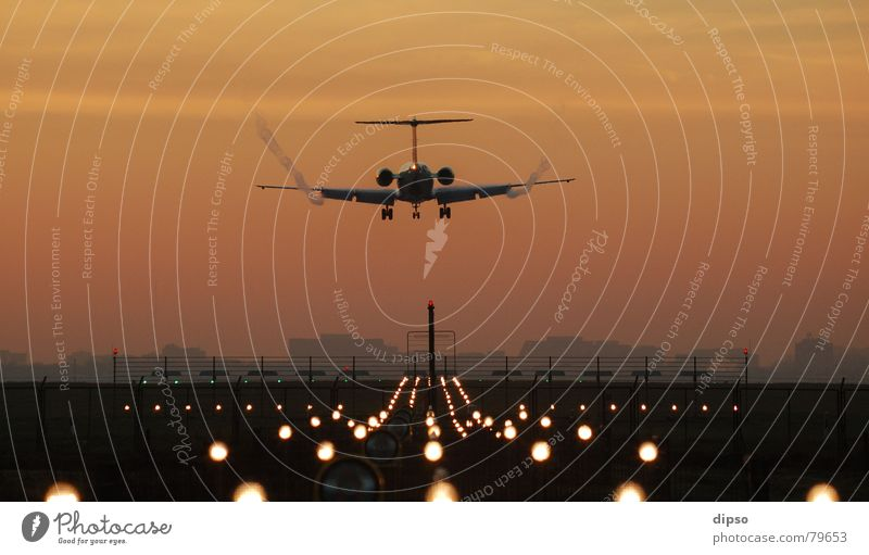 Ab in die Weihnachtsferien Himmel Sonne Ferien & Urlaub & Reisen Flughafen Freiheit Flugzeug fliegen Ausflug Beginn Luftverkehr Flugzeuglandung Pilot
