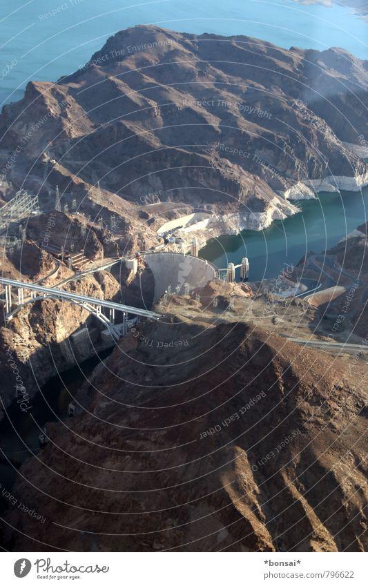 schöne aussichten Ferien & Urlaub & Reisen Natur Sonne Schönes Wetter Felsen Berge u. Gebirge Grand Canyon Küste Seeufer Lake Mead Fluss Colorado River