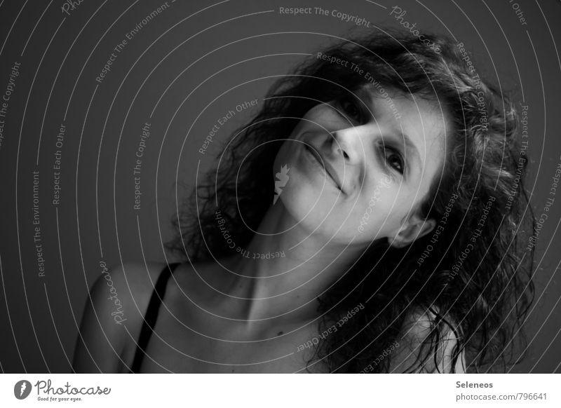 Sommer Sonne Happyness Mensch Frau Jugendliche schön Freude 18-30 Jahre Gesicht Erwachsene Auge Gefühle feminin Haare & Frisuren Glück Stimmung Zufriedenheit