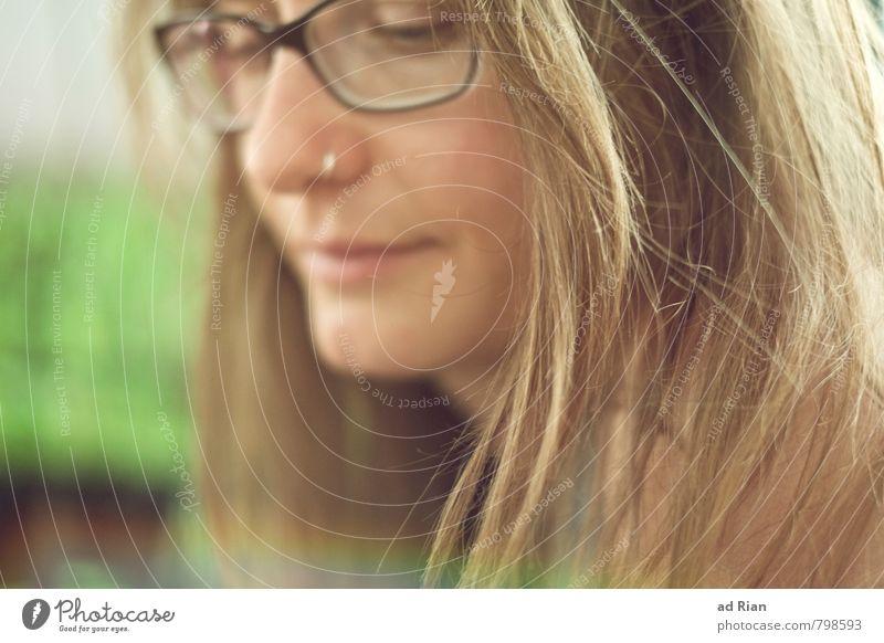 Beautiful Freak Mensch Frau Jugendliche schön Erholung Junge Frau ruhig 18-30 Jahre Gesicht Erwachsene feminin Stil Haare & Frisuren Glück Kopf elegant