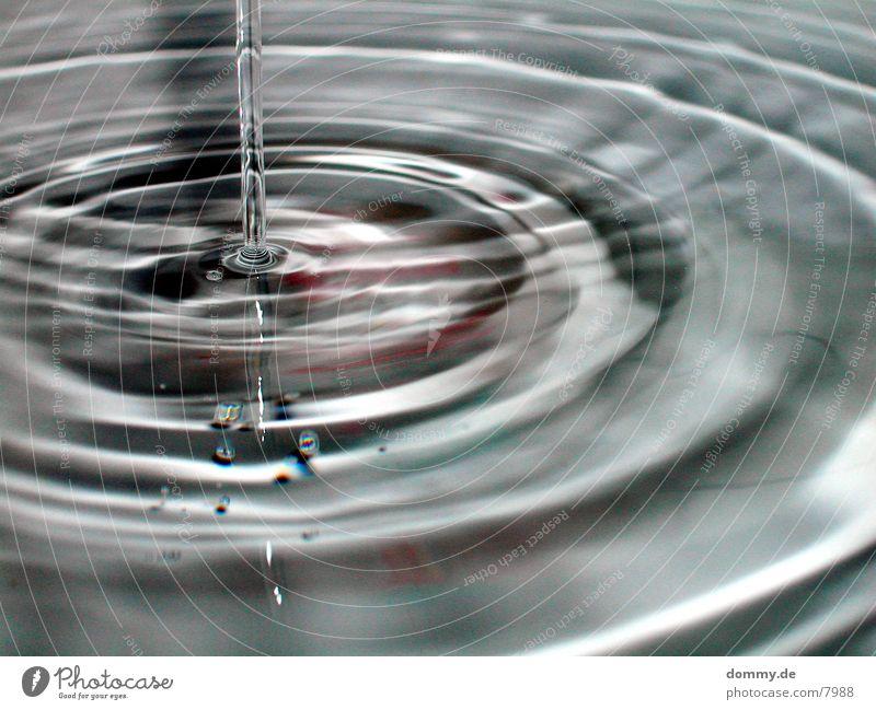 Wasserspiele Part 4 Wellen Wassertropfen Reaktionen u. Effekte Makroaufnahme