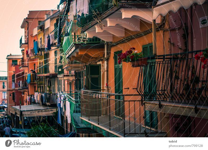 Little Cuba Ferien & Urlaub & Reisen alt Stadt Sommer Haus Fassade Häusliches Leben Freundlichkeit einzigartig Italien Geländer Dorf Balkon Stadtzentrum