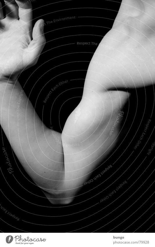 Aufwand Gefäße Daumen Sport Bizeps Gelenk üben Unterarm Schulter stark Schwäche maskulin Mann beweglich geschmackvoll ästhetisch Athlet Finger Hand