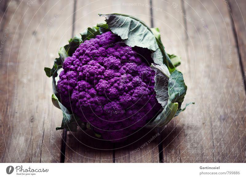 Urform Gesundheit Lebensmittel frisch Ernährung violett Gemüse Bioprodukte Diät Vegetarische Ernährung Kohl Slowfood Blumenkohl