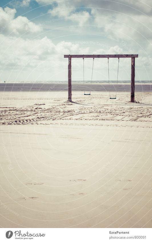 Tag am Meer || Wellness Leben Spielen Ferien & Urlaub & Reisen Tourismus Ausflug Sommer Sommerurlaub Sonne Strand Umwelt Natur Landschaft Himmel Wolken