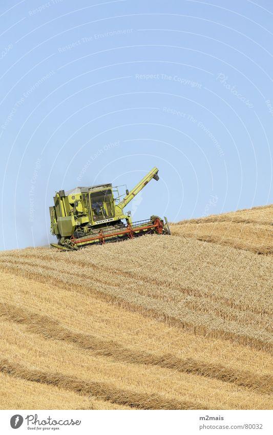 Colheitadeira Länder Gastronomie campo trigo plantação trator colheitadeira fazenda agricultura rural area country