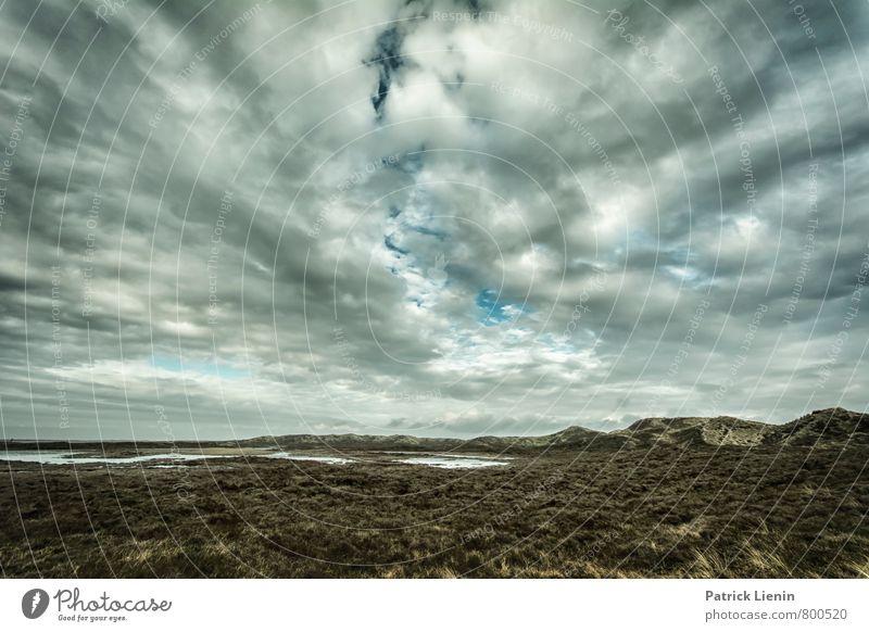 Dünenwelt Himmel Natur Pflanze Sommer Erholung Landschaft Wolken ruhig Ferne Berge u. Gebirge Umwelt Freiheit Zufriedenheit Tourismus Wetter Ausflug