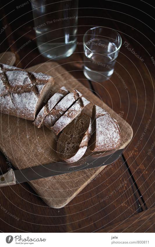 brot Lebensmittel Brot Ernährung Frühstück Abendessen Bioprodukte Vegetarische Ernährung Getränk Erfrischungsgetränk Trinkwasser Flasche Glas Messer