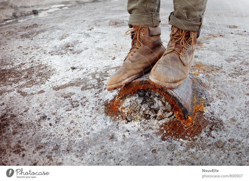 Geysers de Tatio IIII Natur Umwelt Sand Mode Erde Schuhe ästhetisch Urelemente Feuer Hose Jeanshose Stiefel Vulkan Wanderschuhe