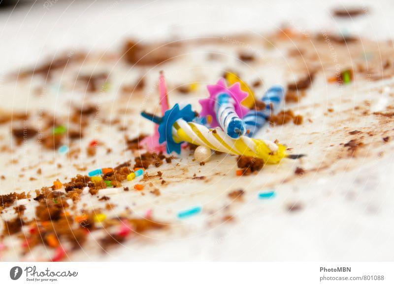 Nachträglich ;-) Happy Birthday! Essen Feste & Feiern Party Geburtstag Kerze Süßwaren Geburtstagstorte Streusel