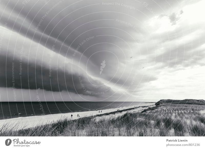 Wolkenbad Himmel Natur Meer Landschaft Ferne Strand Umwelt Küste Lifestyle Regen Wetter Tourismus Luft Wellen Wind