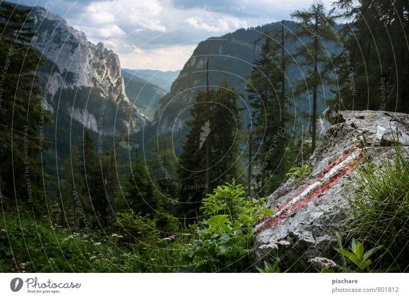 Do samma her, do ghör ma hin Natur Ferien & Urlaub & Reisen schön Landschaft Berge u. Gebirge natürlich Freizeit & Hobby Tourismus wandern Lebensfreude