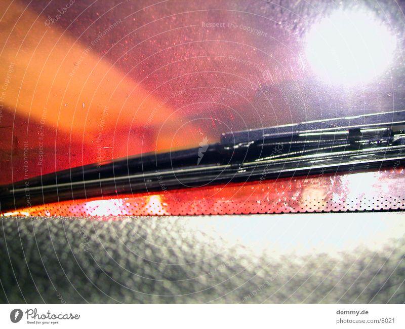 REDscheibenwischer Scheibenwischer rot Langzeitbelichtung red corsa kaz