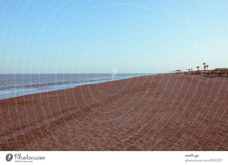 retro beach Ferien & Urlaub & Reisen Sommer Meer Einsamkeit Erholung ruhig Strand Ferne Freiheit außergewöhnlich Horizont Idylle Wellen Tourismus Insel Ausflug