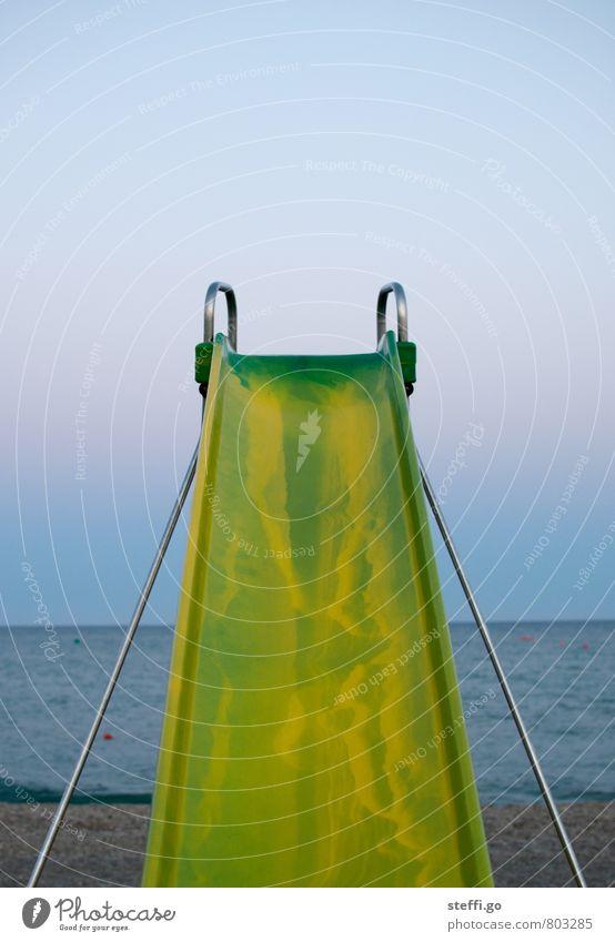 traust du dich? Spielen Ferien & Urlaub & Reisen Tourismus Ausflug Abenteuer Ferne Sommerurlaub Strand Meer Insel Wellen gigantisch groß hoch retro Freude