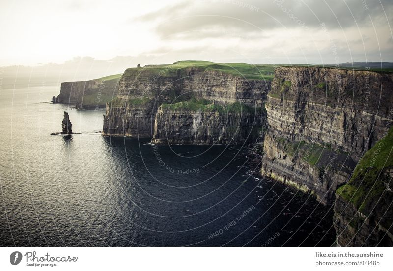 cliffs of moher. WOW! Ferne Umwelt Klippe gigantisch Republik Irland Cliffs of Moher