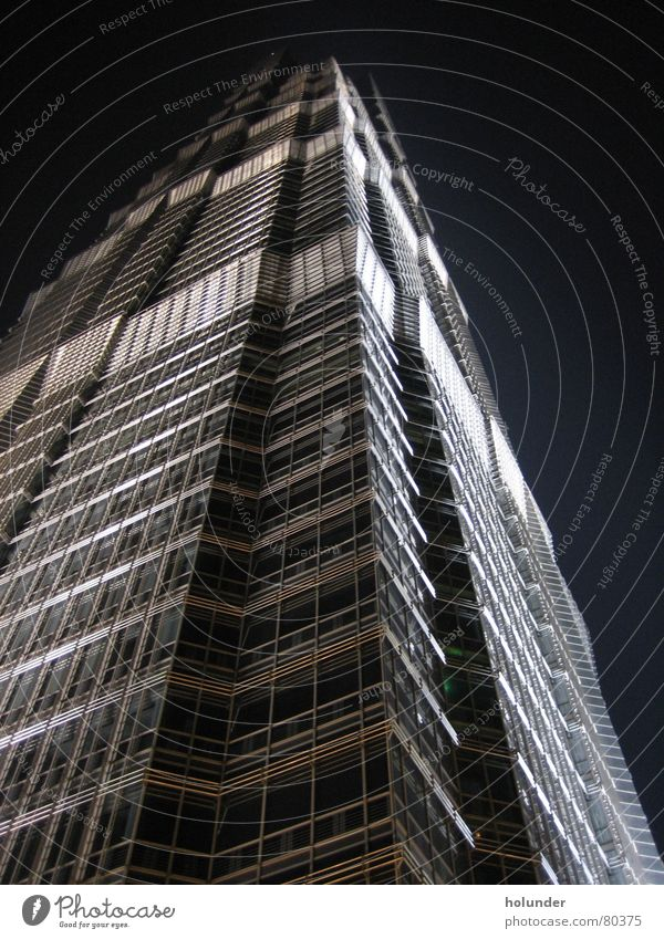 Jin Mao Tower Architektur Hochhaus Asien China Shanghai Hotel Hyatt
